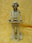 Ceramic  figurine Artr. 06