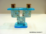 murano glass candlestick Art 12