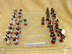 murano glass chessgame Askenazi/Sephardity